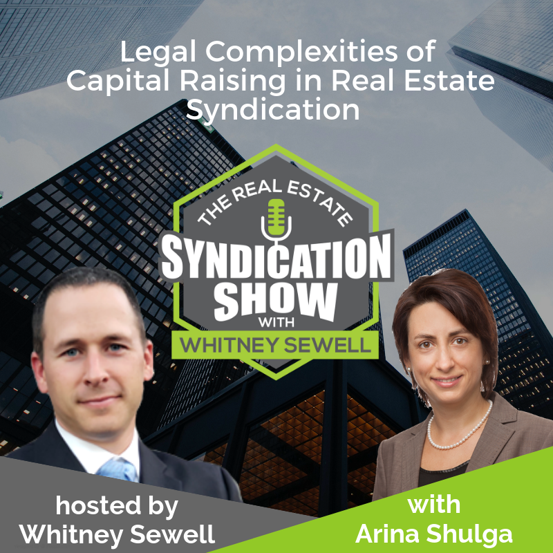 real estate syndication, real estate investing and capital raising and deal making