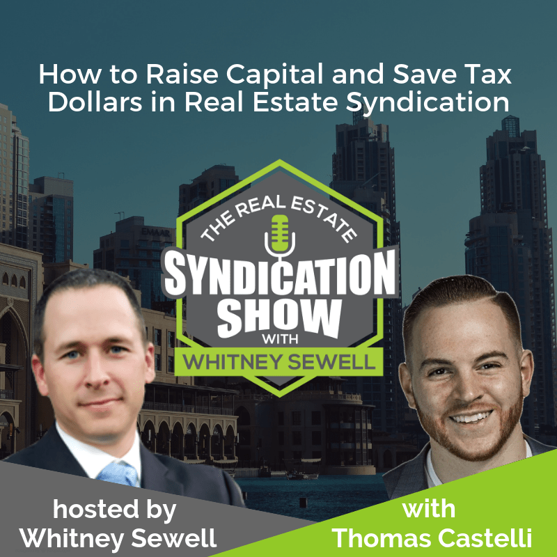 real estate syndication and real estate investing