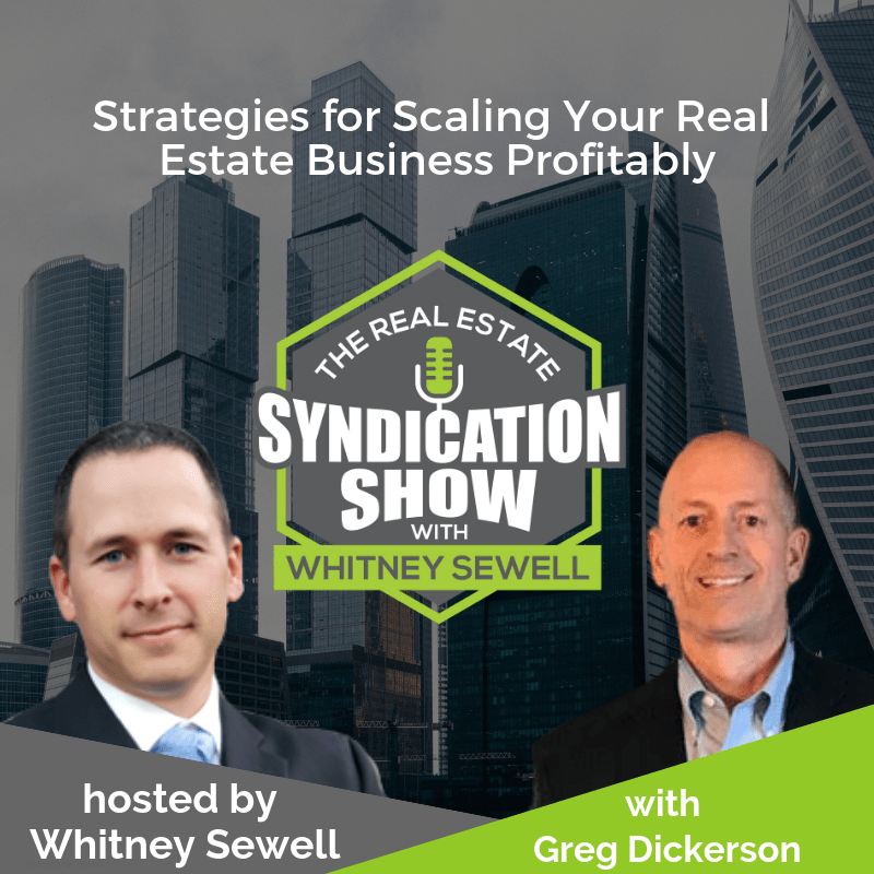 Property Rehab, Cash Flow Generation in Real Estate Syndication